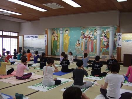 第10回ヨガアサナ実践会